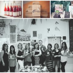 Crafting Night with West Coast Creative Living Bloggers at Collage Collage