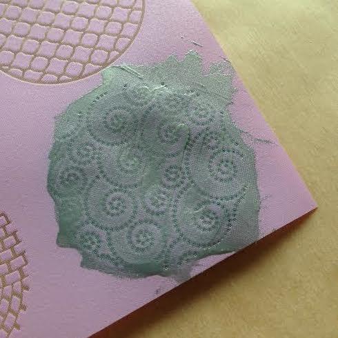 How to make silk screened  Premo Sculpey Clay pendants 3