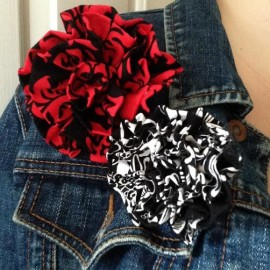 Oh-Sew-Easy-10-Minute-Fabric-Flower-Tutorial-No-Sewing-Machine-Required-on-jacket