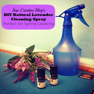 Throwback Thursday- Homemade Lavender Cleaning Spray Perfect For Spring Cleaning