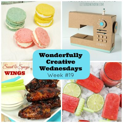 Link Up Your Best DIY, Craft and Food Posts at Wonderfully Creative Wednesday Week 19
