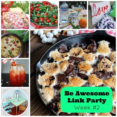8 Lifestyle Bloggers, 1 Awesome Party! The #BeAwesome Link Party!