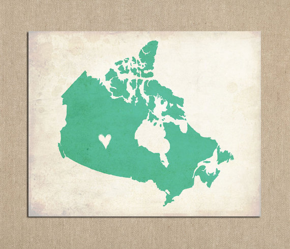 Canada Love Customizable Art
