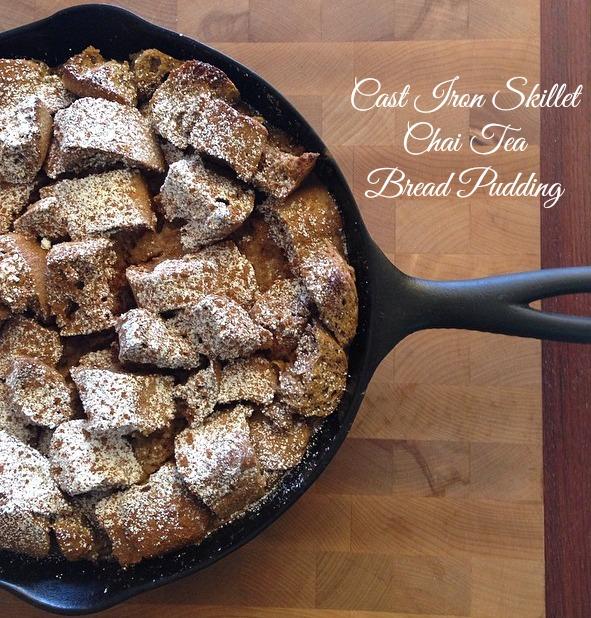 Cast Iron Skillet Chai Tea Bread Pudding.jpg