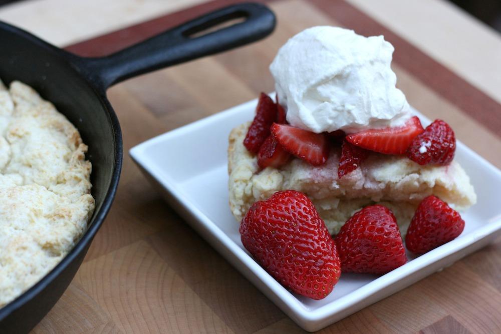 Cast Iron Skillet Strawberry Shortcake Recipe 2