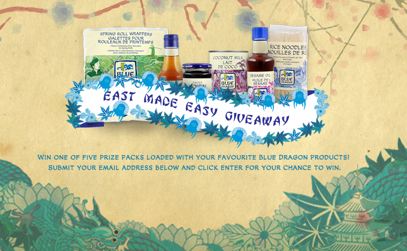 East Made Easy Giveaway