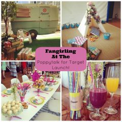 Fangirling at the Poppytalk for Target Launch!