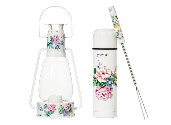 I realized afterwards that I missed taking a photo of the beautiful Poppytalk for Target lantern, thermos and skewers. Ranging from $10.00-$18.00.