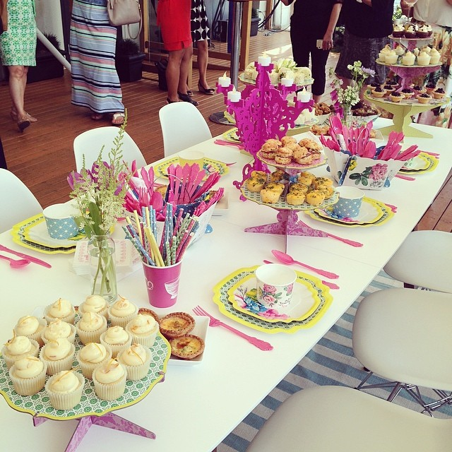 Poppytalk for Target Launch Party Time