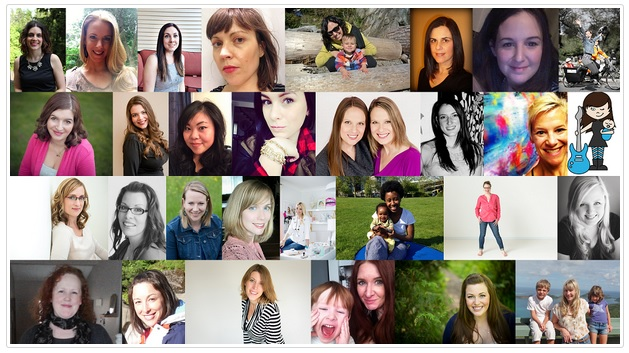 Vancouver Mom Top 30 Blogger Awards 2014 Nominees