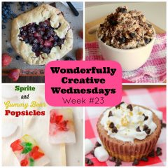 DIY, Crafts and Food! Link on up at Wonderfully Creative Wednesday Week 23