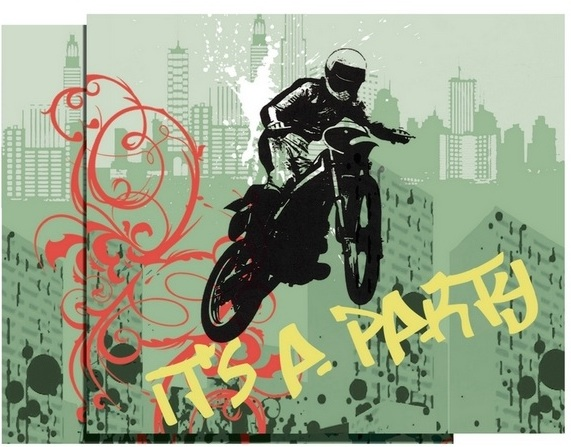 extreme-sports-it-s-a-party-invitations-package-of-8-cards-with-envelopes-xtreme-action