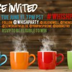 twitter party for Whish