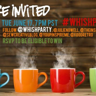 No One Throws a Twitter Party Like A Party Planner! #WhishParty June 17th, 7pm PST