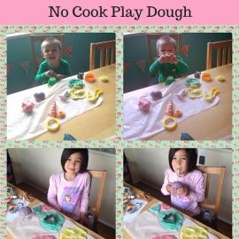 No Cook Play Dough Recipe