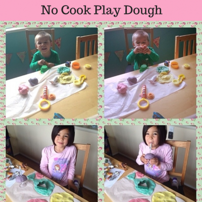 Inside Time Summer Fun- No Cook Play Dough