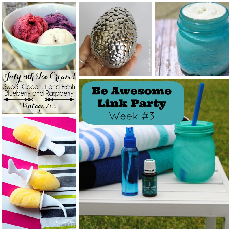 Be Awesome Link Party Week #3.jpg