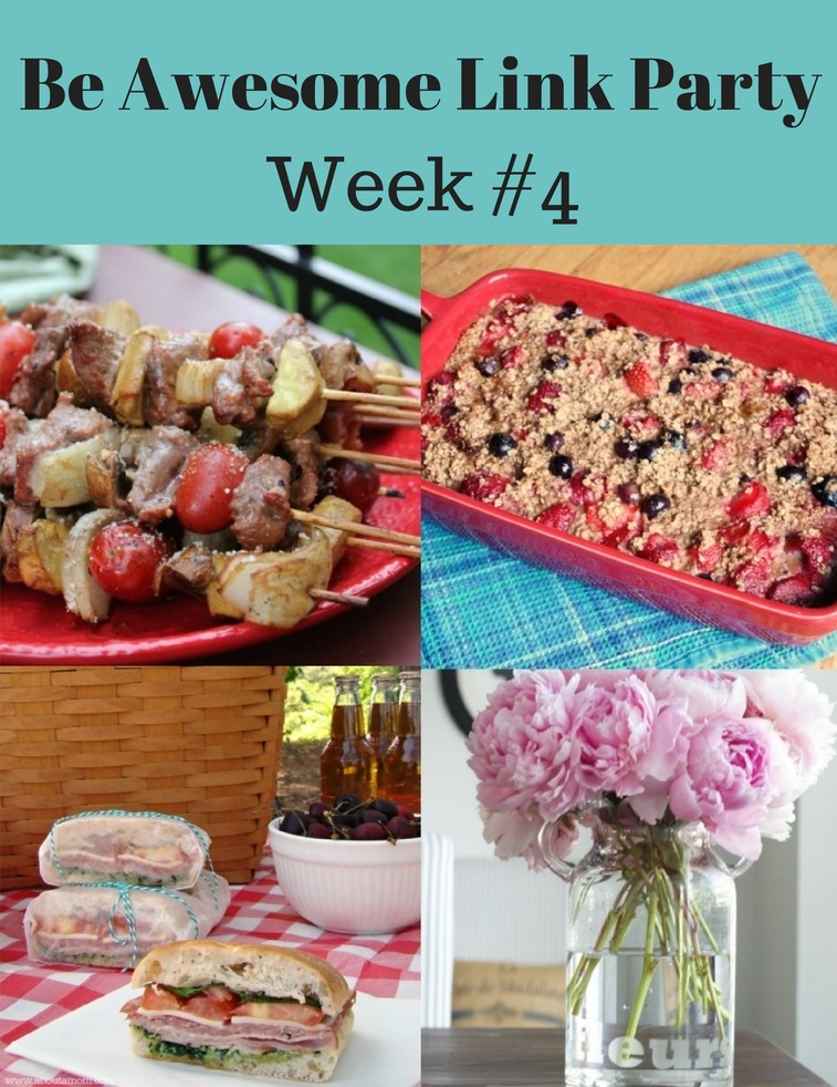 Be Awesome Link Party Week 4
