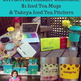 Favorite Things Friday- DAVIDsTEA Summer Collection, $1 Iced Tea & Takeya Iced Tea Pitchers