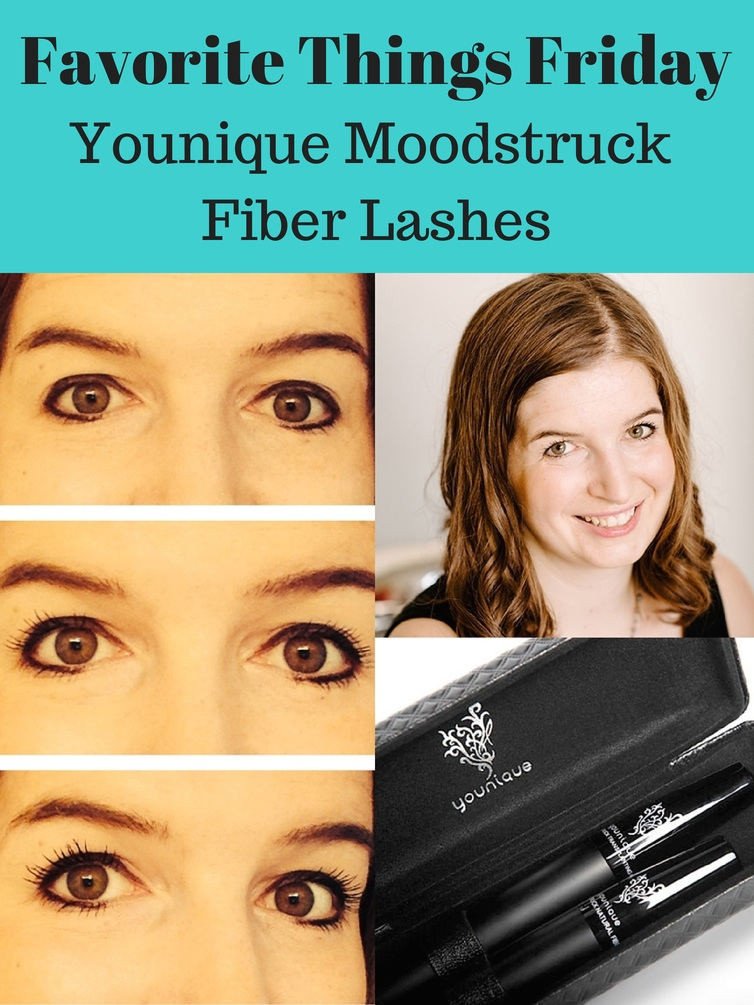 Favorite Things Friday Younique Moodstruck Fiber Lashes this year's must have beauty product