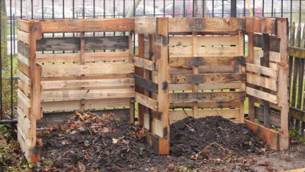 Pallet Compost System