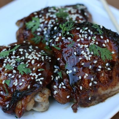 Quick and Easy Hoisin Sesame Sticky Chicken Recipe
