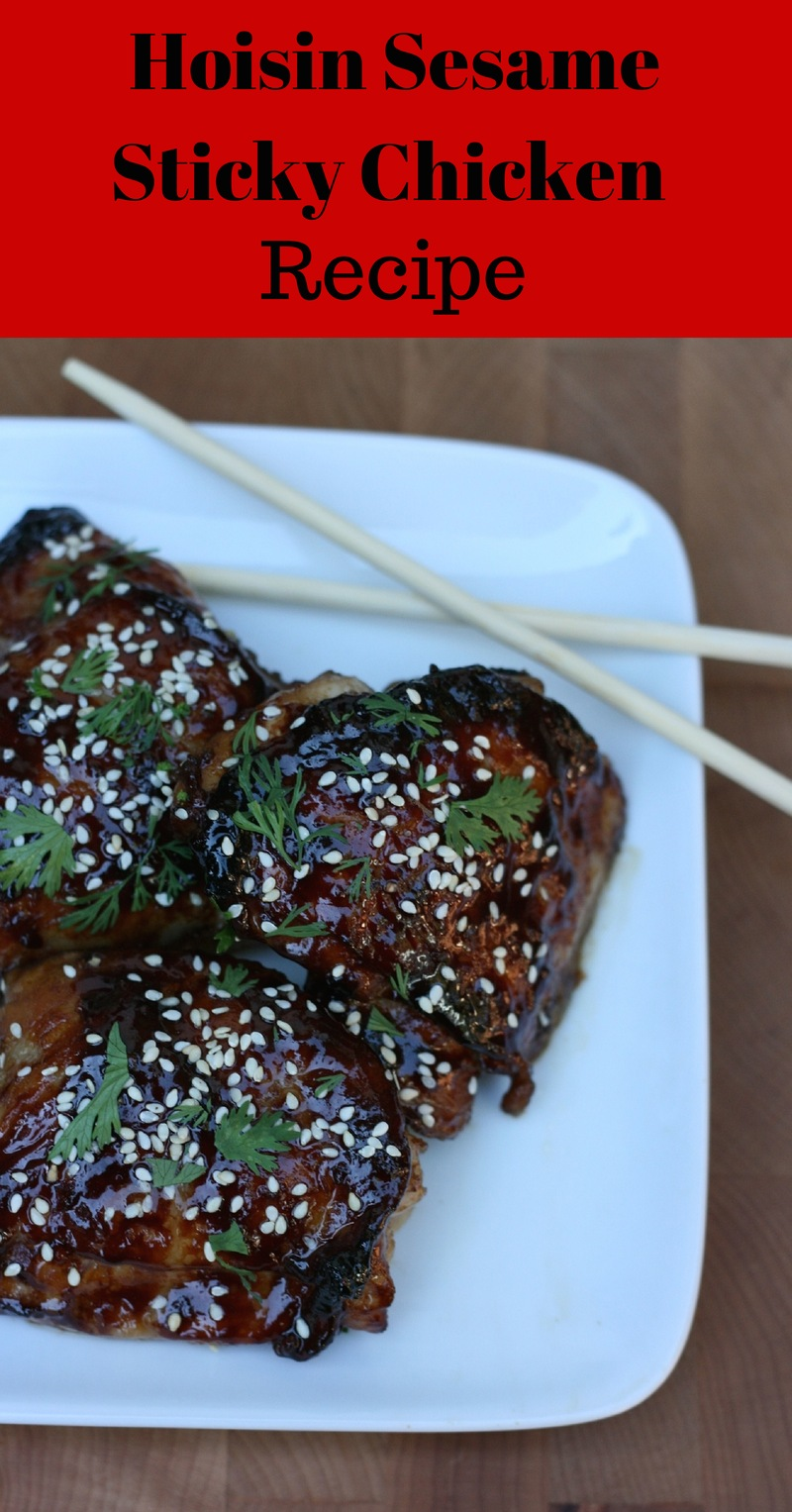 Quick and Easy Blue Dragon Hoisin Sesame Sticky Chicken Recipe #BlueDragonMom