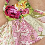 American Girl Doll Dress Sewing Project perfect for a beginner sewer. Can be adjusted for all sizes of dolls 3