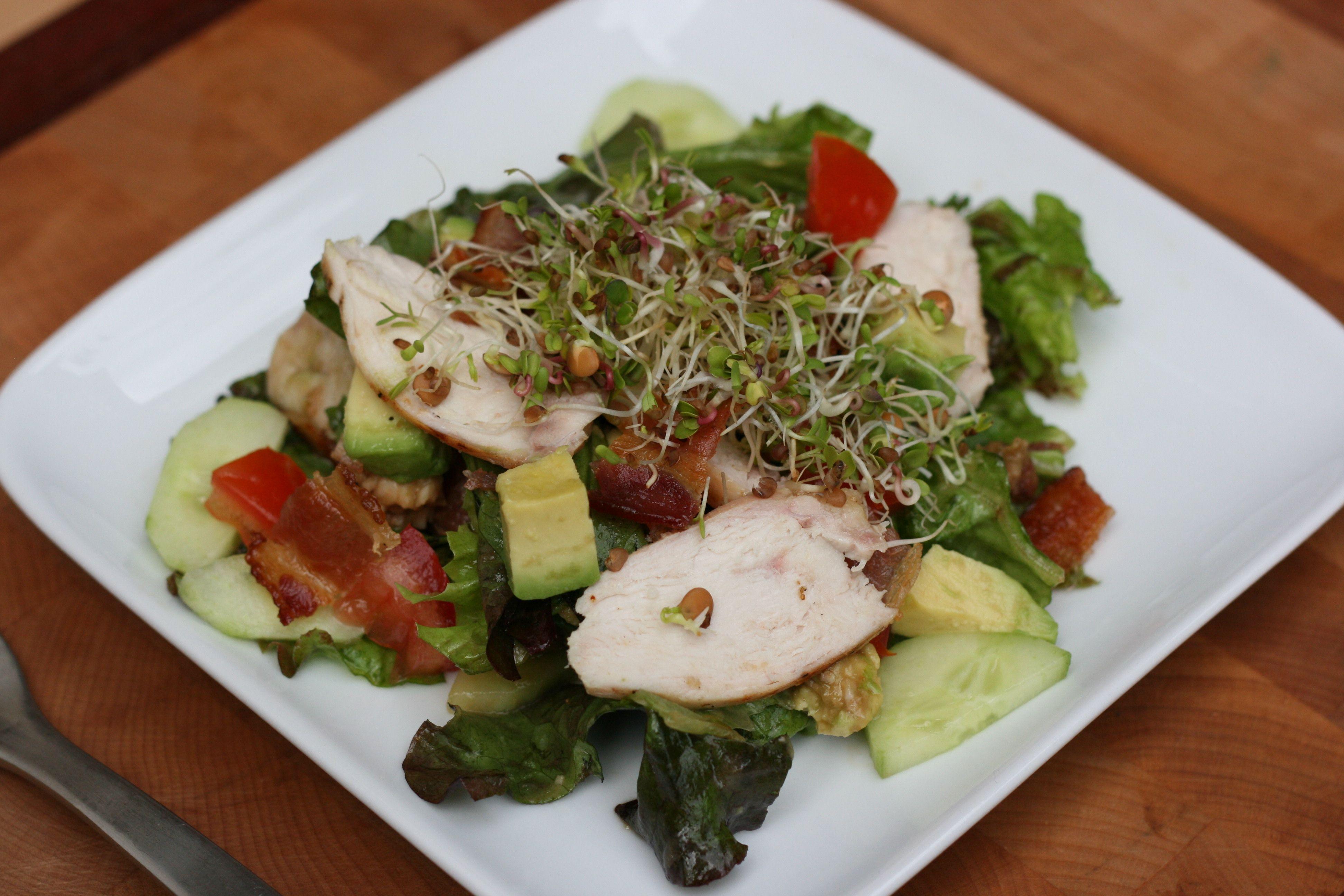 Balsamic Chicken Salad Recipe from Saving Dinner 2