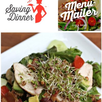Favorite Things Friday- Saving Dinner Giveaway and Balsamic Chicken Salad Recipe