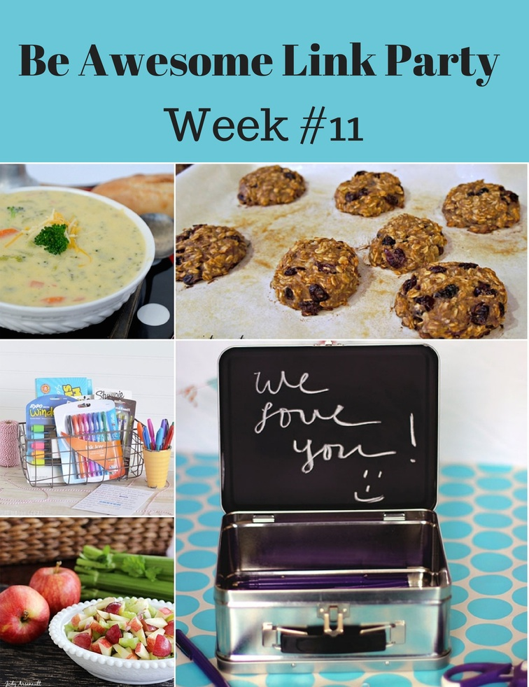 Be Awesome Link Party Week 11