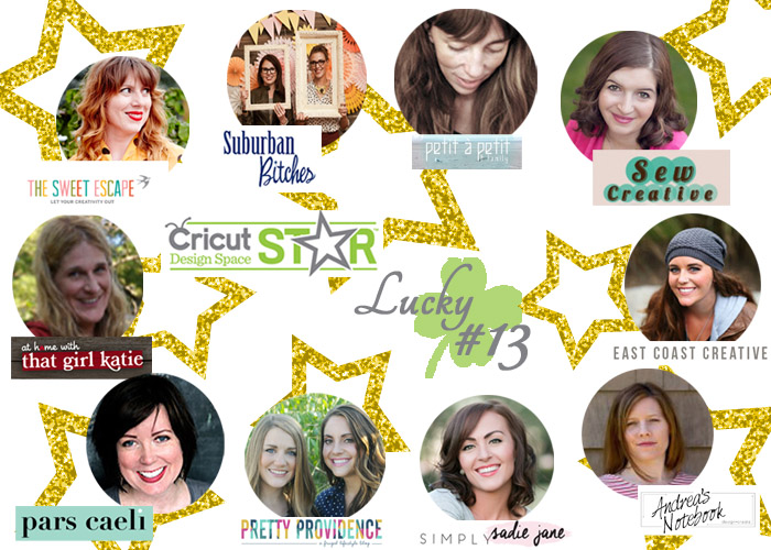 Cricut Design Space Star Team Lucky 13