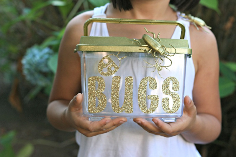 Glitter and Gold Blinged out Bug Catcher 2