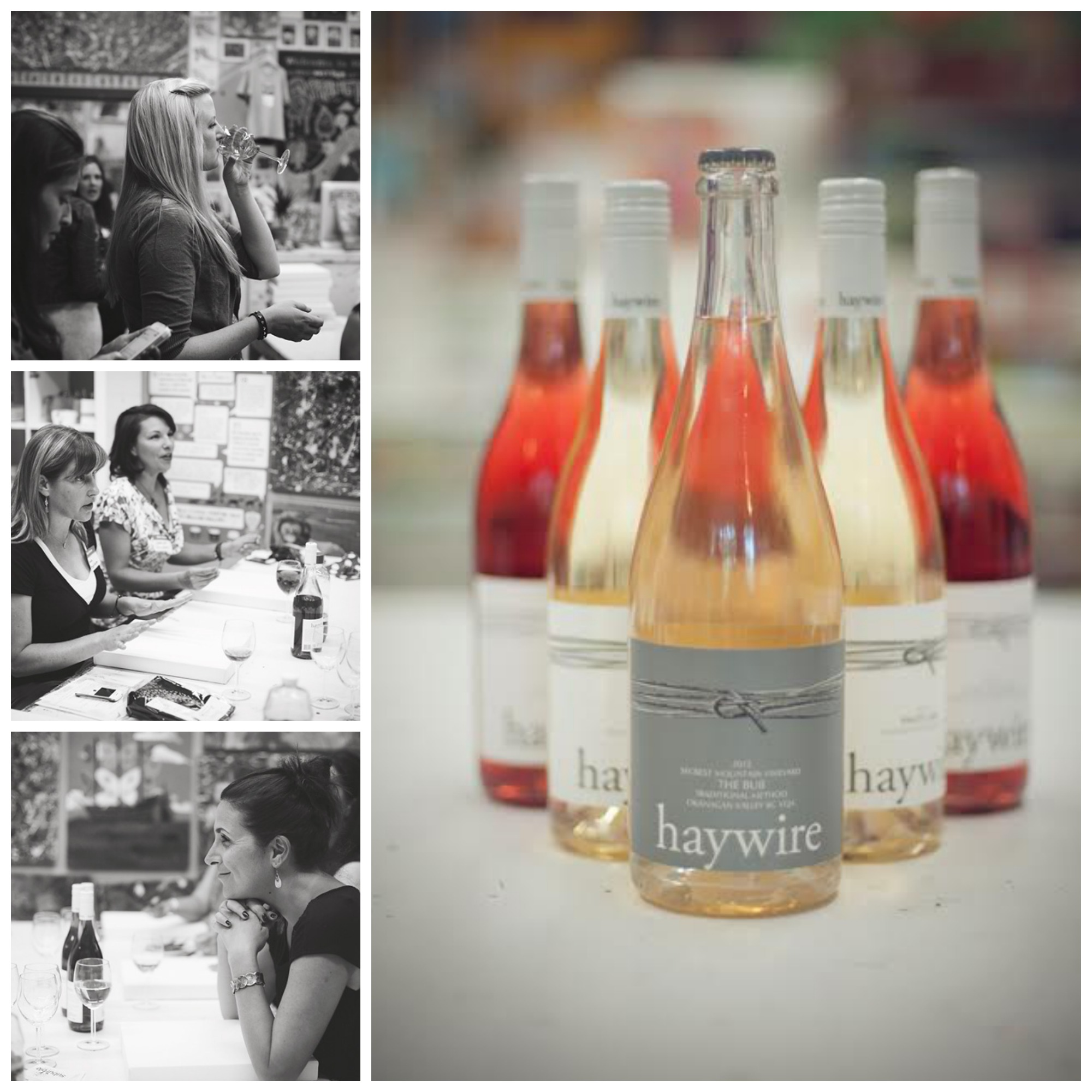 Haywire wine at West Coast Creative Company Event.jpg