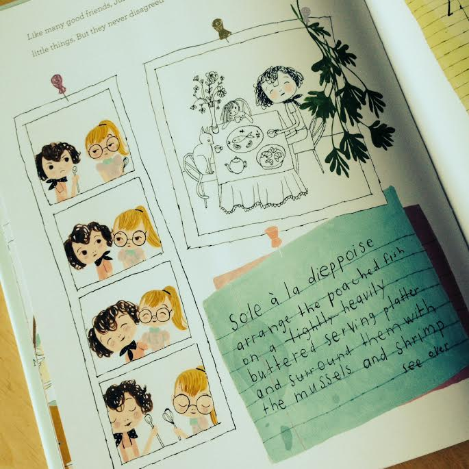 Page from Julia, Child on Sew Creative's Favorite Things Friday 2