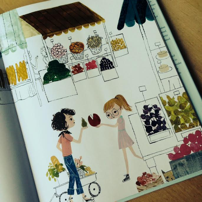 Page from Julia, Child on Sew Creative's Favorite Things Friday