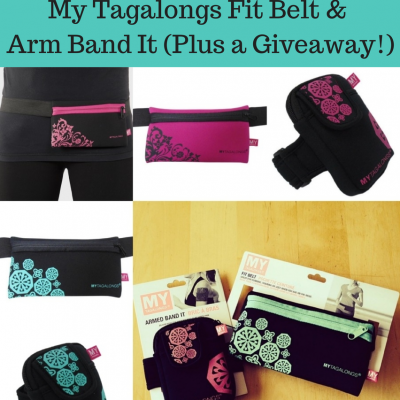 Favorite Things Friday- My Tagalongs Fit Belt and Arm Band It (Plus a Giveaway!)