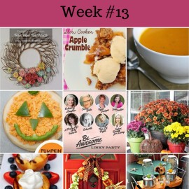Be Awesome Link Party Week 13 Featured Pics