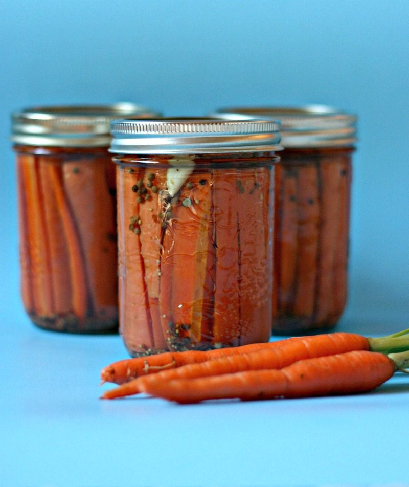 how to make canned carrots