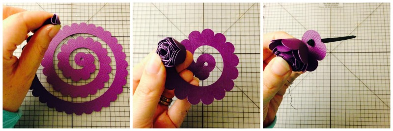 Cricut Paper flower instructions