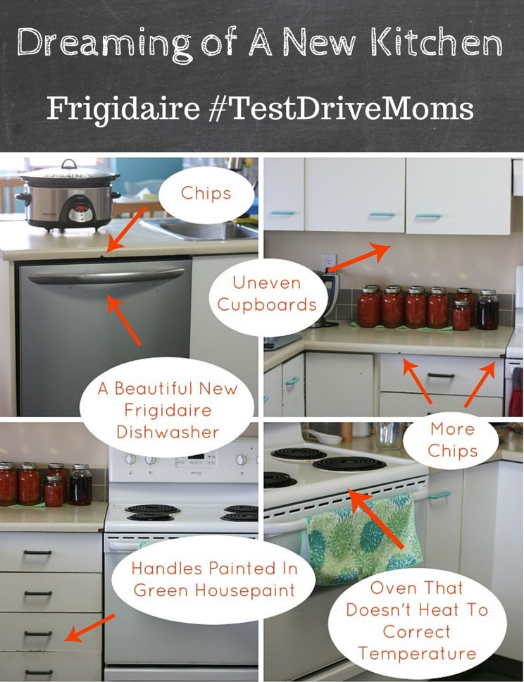 Dreaming of A New Kitchen Frigidaire Test Drive Moms
