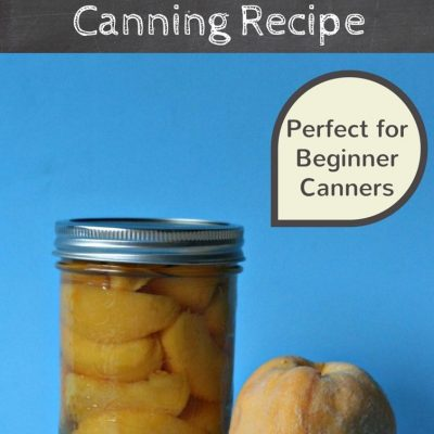 Easy Peasy Peaches Canning Recipe Perfect For Beginners