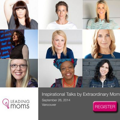 Meeting Inspiring Women at Leading Moms