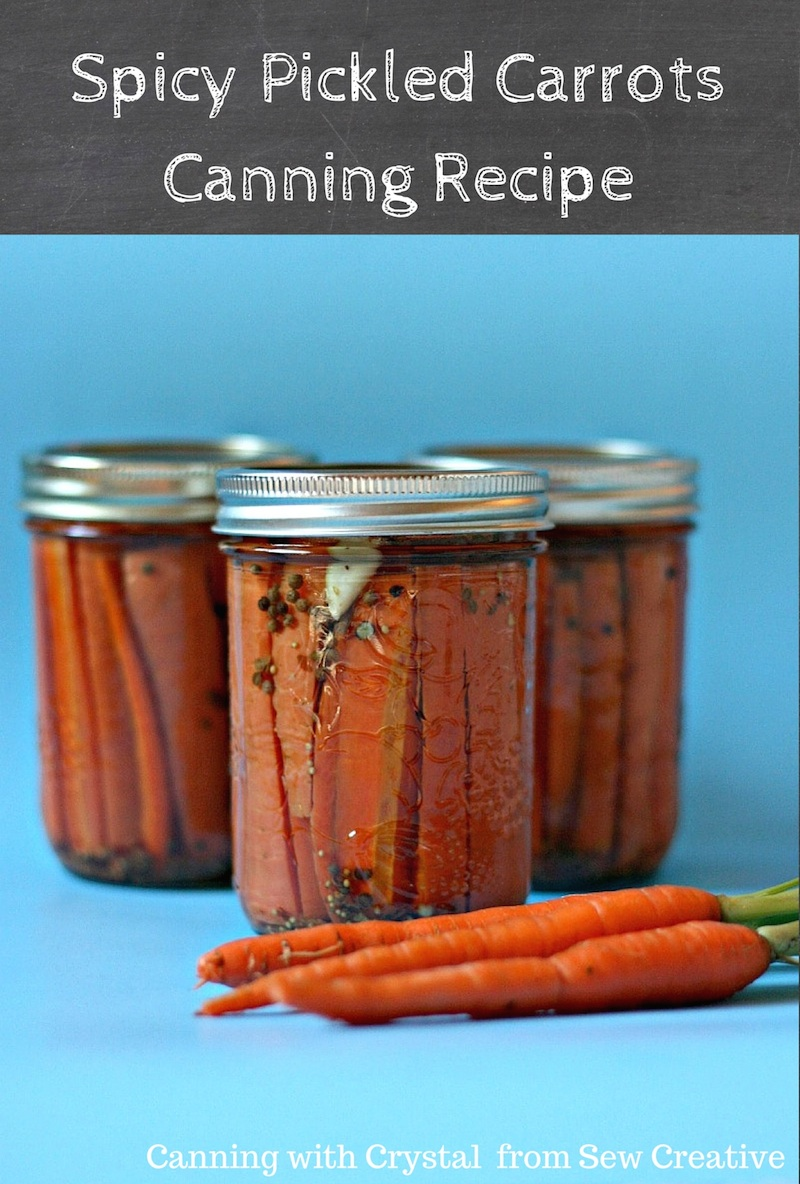 Spicy Pickled Carrots Canning Recipe 4 Other Canning