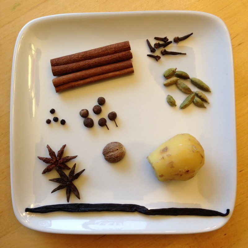 Apple Chai Citer Ingredients