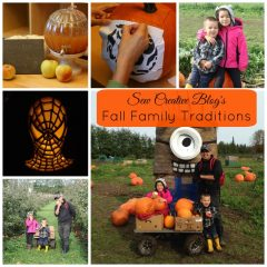 Apple Picking, A Pumpkin Carving Party and a Beautiful Pottery Barn Pumpkin Drink Dispenser