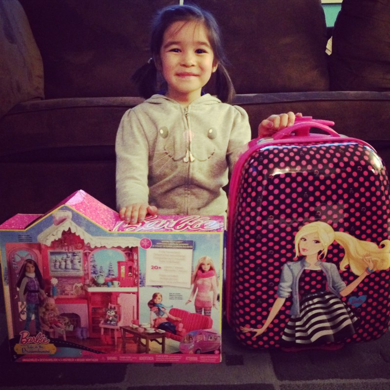 Bean and her Barbie Life In The Dreamhouse Prize Pack