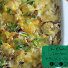 Fully Loaded Chicken and Potato Casserole Recipe Using McCains Superfries