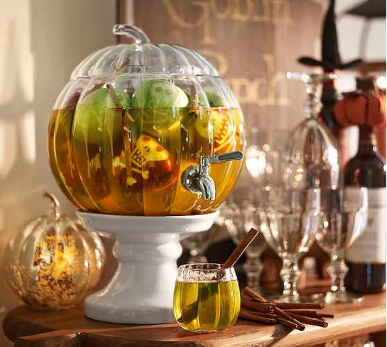 Potter Barn Pumpkin Drink Dispenser