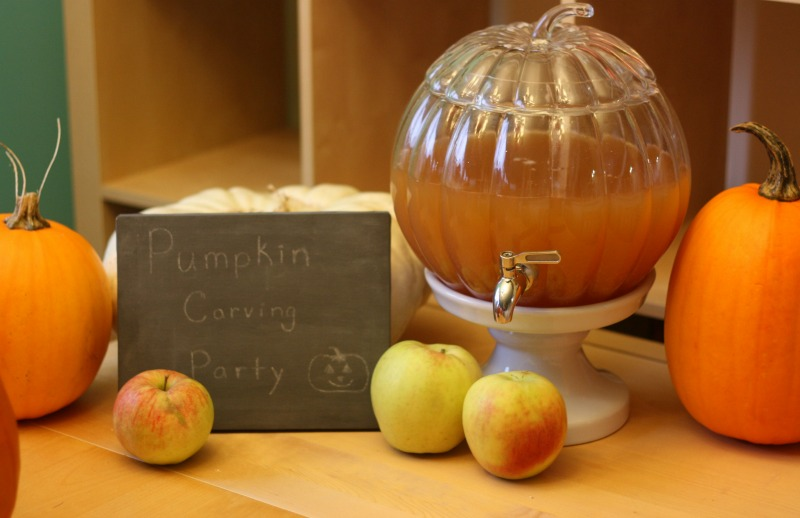 Pumpkin Drink Dispenser from Pottery Barn